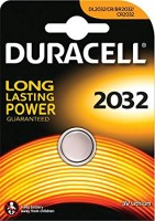 CR2032 DURACELL Knopfzelle Lithium 1er Pack