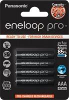 AAA Akkus PANASONIC eneloop Pro 830 mAh BK-4HCDE/4BE 4er Pack