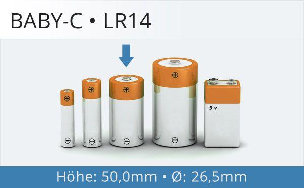Baby-C Batterien