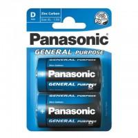 Monozellen PANASONIC LR20 Mono-D Zinc Carbon 2er Pack