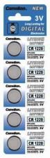 CR1220 CAMELION Knopfzelle Lithium 5er Streifen