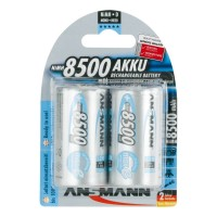 Ansmann Mono-D maxE Mono blue 8500mAh 2er Pack