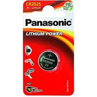 CR2025 PANASONIC Knopfzelle Lithium 1er Pack