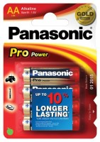 AA Batterien PANASONIC LR06 Mignon Pro Power 4er Pack