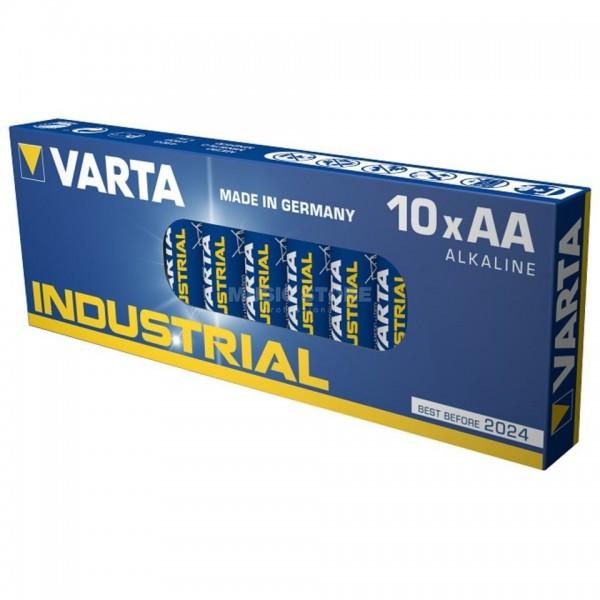 AA Batterien VARTA LR06 Mignon Industrial 10er Pack