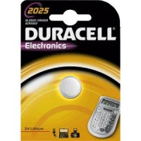 CR2025 DURACELL Knopfzelle Lithium 1er Pack