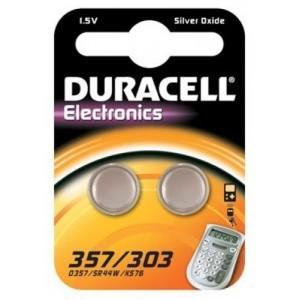 357/303 Duracell Uhrenbatterie