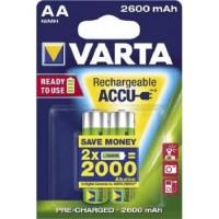 AA Akkus VARTA 2600 mAh 5716 Power Akku 2er Pack