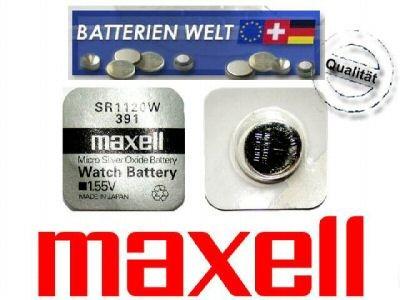 SR1120W Maxell Uhrenbatterie