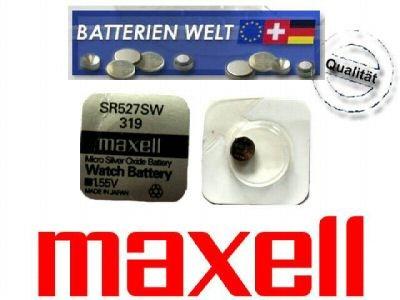 SR527SW Maxell Uhrenbatterie