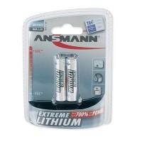 AAA Batterien ANSMANN LR03 Micro Extreme Lithium 2er Pack