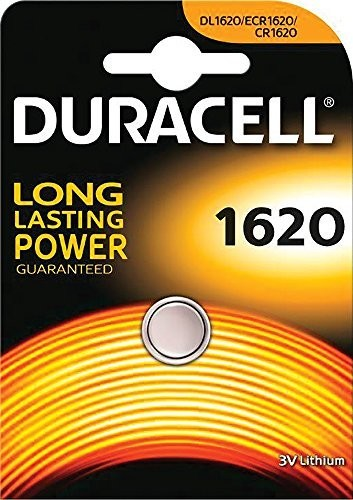 CR1620 DURACELL Knopfzelle Lithium 1er Pack