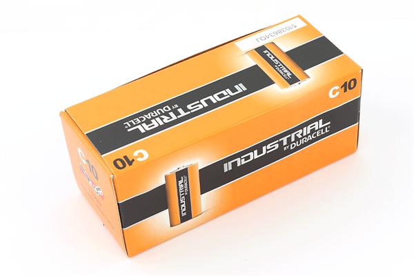 Babyzellen DURACELL LR14 Baby-C Industrial ID1400 10er Pack