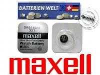 SR616SW Maxell Uhrenbatterie