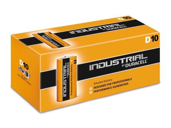Monozellen DURACELL LR20 Mono-D Industrial ID1300 10er Pack