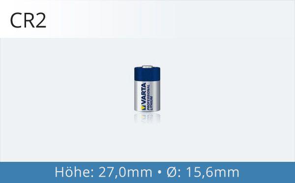 CR2 Fotobatterie