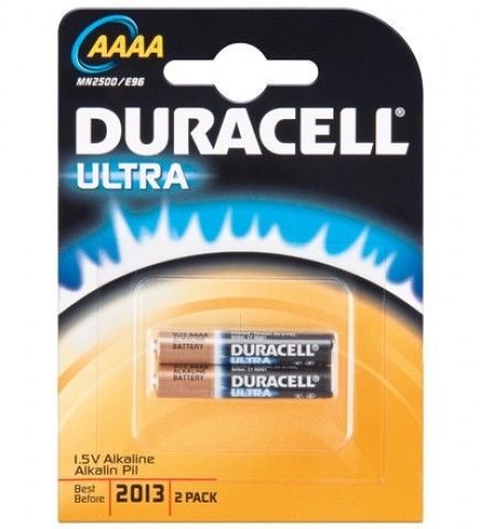 AAAA Batterien DURACELL LR61 Mini Ultra Power MX2500 2er Pack