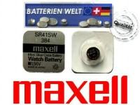 SR41SW Maxell Uhrenbatterie