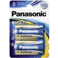 Monozellen PANASONIC LR20 Mono-D Evolta 2er Pack