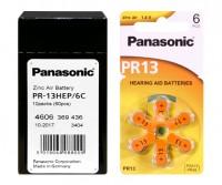 Typ 13 Hörgerätebatterien PANASONIC PR13 PR48 60er Pack