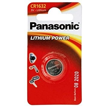 CR1632 PANASONIC Knopfzelle Lithium