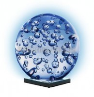 Glas Ball Big Waterdrops