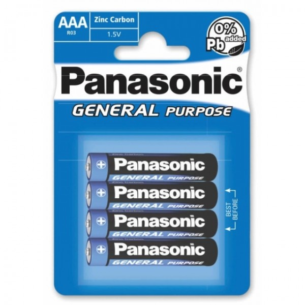 AAA Batterien PANASONIC LR03 Micro Plus 4er Pack