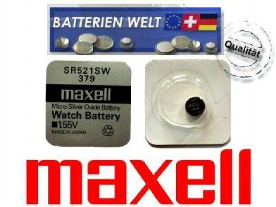 SR521SW Maxell Uhrenbatterie