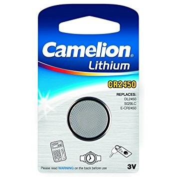 CR2450 CAMELION Knopfzelle Lithium 1er Pack
