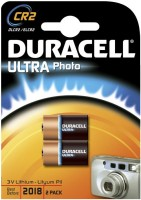 CR2 Duracell Ultra Photo 2er Pack