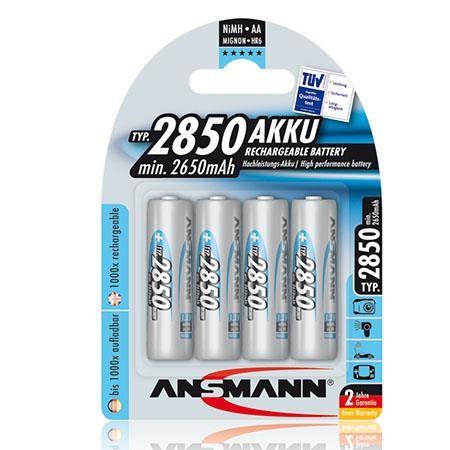 AA Akkus ANSMANN 2850 mAh Digital Mignon 4er Pack