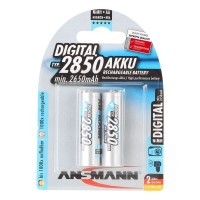 Ansmann AA Akku 2850 mAh Digital Mignon 2er Pack