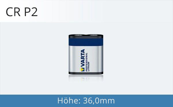 CR P2 Fotobatterie