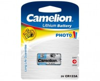 CAMELION CR123A Lithium-Photozelle 3V 1er Pack