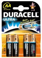 AA Batterien DURACELL LR06 Mignon MX1500 Ultra Power 4er Pack