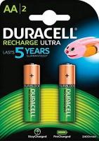 Duracell AA Akku Recharge Mignon 2500mAh 2er Pack