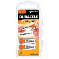 Typ 13 Hörgerätebatterien DURACELL EasyTab PR48 6er Pack