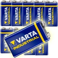VARTA 9V Block 4022 Industrial - 10er Pack