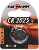 CR2025 ANSMANN Lithium Knopfzelle