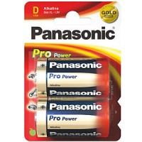 Monozellen PANASONIC LR20 Mono-D Pro Power 2er Pack