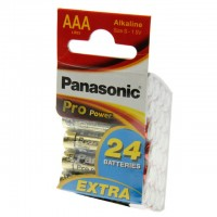 AAA Batterien PANASONIC LR03 Micro Pro Power 24er Pack