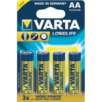AA Batterien VARTA LR06 Mignon Longlife Extra 4106 4er Pack