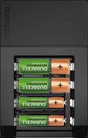 Duracell 15-Minunten-Ladegerät CEF15 inklusive 4 x AA Akkus