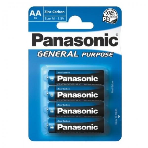 AA Batterien PANASONIC LR06 Mignon R6B 4er Pack