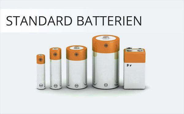 Standard Batterien