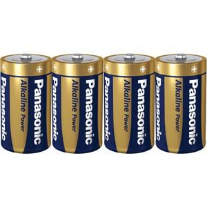 Monozellen PANASONIC LR20 Mono-D Alkaline Power 4er Pack