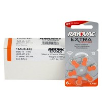 Typ 13 Hörgerätebatterien RAYOVAC Extra Advanced R13AE PR48 60er Pack