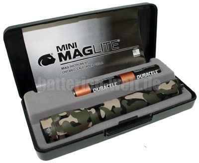 Mini Mag AA camouflage
