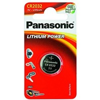 CR2032 PANASONIC Knopfzelle Lithium 1er Pack
