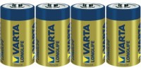 Monozellen VARTA LR20 Mono-D Longlife Extra 4120 4er Pack